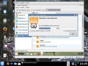 Pardus 2008 Ekran Görüntüsü -6