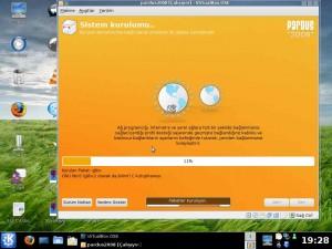 Pardus 2008 Ekran Görüntüsü -2