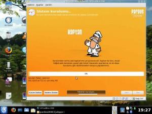 Pardus 2008 Ekran Görüntüsü -1