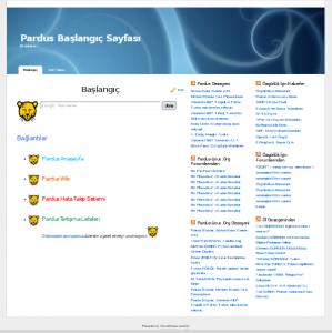 Pardus Başlangıç Sayfası