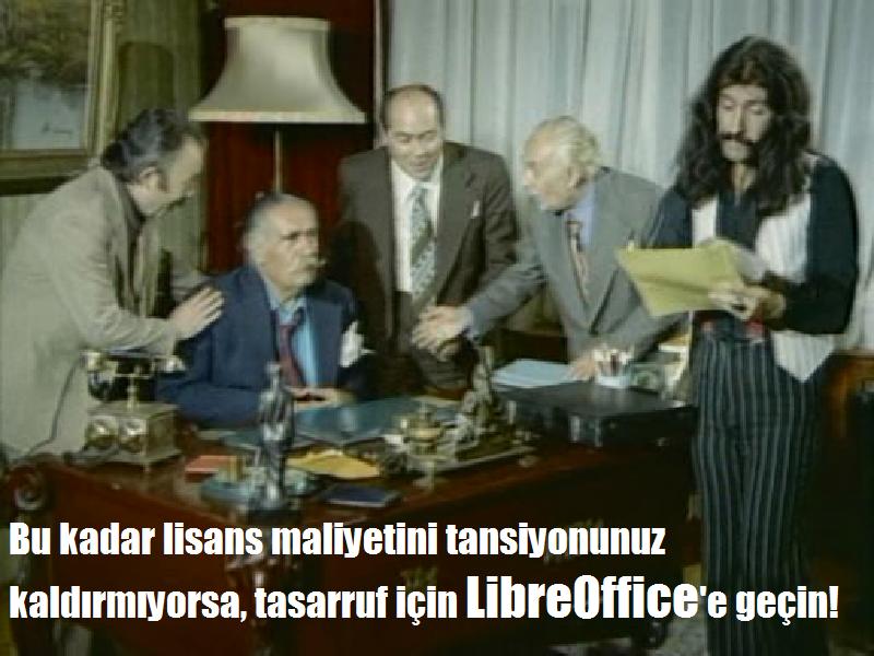 Bu kadar lisans maliyetini tansiyonunuz kaldırmıyorsa, tassarruf için LibreOffice'e geçin
