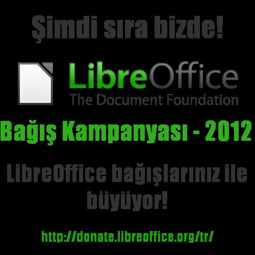 LibreOffice Bağışlarımızla Büyüyecek!