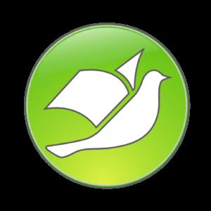 Kekiniz için Belge Özgürlüğü Güvercin logosu