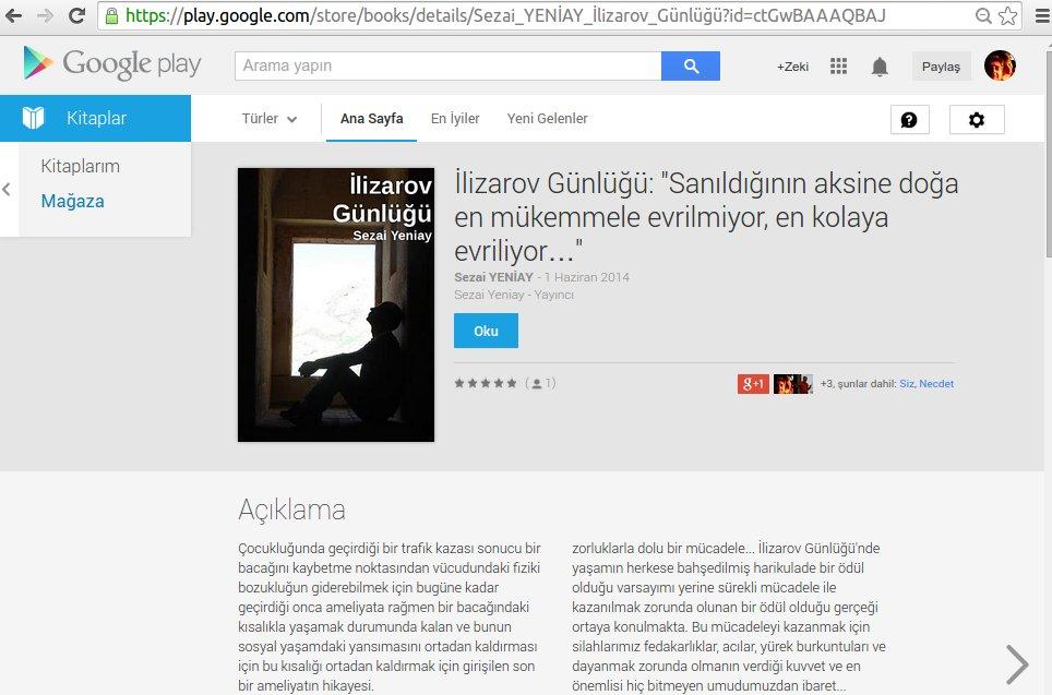 lİlizarov Günlüğü Google Play'de