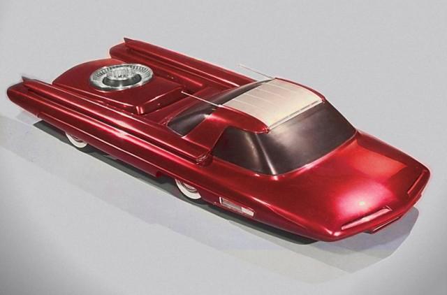 Ford Nucleon - Nükleer enerji ile çalışan araba konsepti