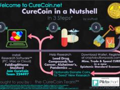 Üç adımda CureCoin