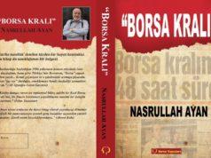 """Nasrullah Ayan'ın yazdığı """"Borsa Kralı"""" kitabının kapağı"""