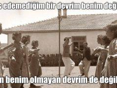 Dans edemediğim bir devrim benim değildir - Emma Goldman